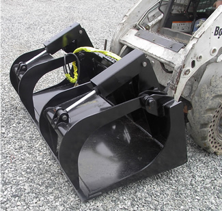 rake with optional top clamp