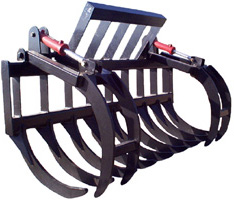 Skid Steer Stacking Rake